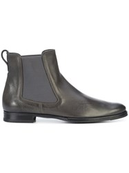 Gravati Chelsea Boots Leather Rubber 6.5 Brown