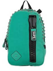 Supe Design Mini Faux Leather Day Backpack