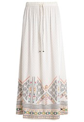 Roxy Solid Air Maxi Skirt White Off White