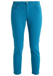 Naf Naf Fousy Slim Fit Jeans Turquoise Mottled Turquoise