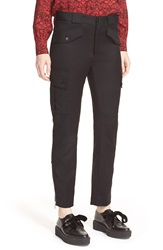 Marc By Marc Jacobs Stretch Wool Cargo Pants Black