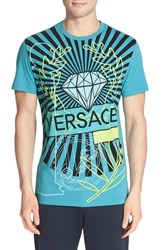 Men's Versace Jeans Diamond Print T Shirt