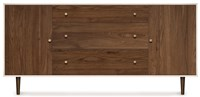 Copeland Furniture Mimo Bedroom 1 Door On Either Side Of 3 Drawers Dresser