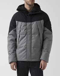 Element Black Anthracite And Beige Black Sky Puffa Jacket