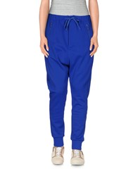Y 3 Trousers Casual Trousers Women Bright Blue