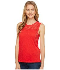 Ariat Mallow Top Red Lacquer Women's Sleeveless