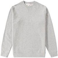 Sunspel Loopback Sweat Top Grey