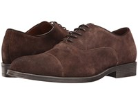 Rush By Gordon Rush Rowling Brown Suede Men's Lace Up Casual Shoes