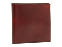 Bosca Old Leather Collection Id Hipster Wallet Cognac Leather Wallet Brown