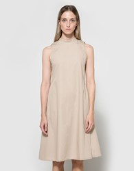 Toit Volant Mariko Dress Khaki
