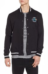Eleven Paris Men's Elevenparis Neptune Track Jacket Black