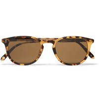 Garrett Leight California Optical Kinney 49 D Frame Tortoiseshell Acetate Sunglasses