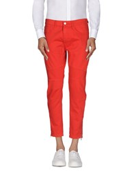 Paura Trousers Casual Trousers Men Red