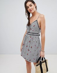 Superdry Gingham Cami Dress Multi