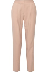Adam By Adam Lippes Cropped Stretch Wool Tapered Pants