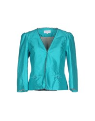 Patrizia Pepe Suits And Jackets Blazers Women Turquoise