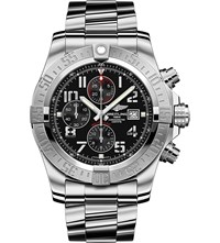 Breitling A1337111 Bc28 168A Super Avenger Ii Stainless Steel Chronograph Watch