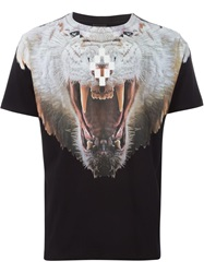 Marcelo Burlon County Of Milan Animal Print T Shirt Black