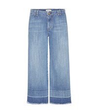 Current Elliott The Cropped Hampden Jeans Blue