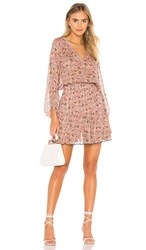 Velvet By Graham And Spencer Aubrey Dress In Pink.