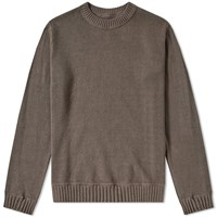 Mhl By Margaret Howell Mhl. Army Crew Sweat Grey