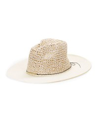 Collection 18 Paper Panama Hat White