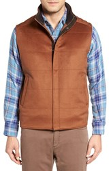 Peter Millar Men's 'Greenwich' Wool And Cashmere Quilted Vest Vicuna