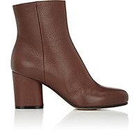 Maison Martin Margiela Women's Side Zip Ankle Boots Brown