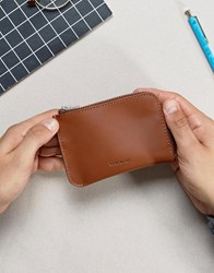 Sandqvist Penny Wallet In Leather Brown