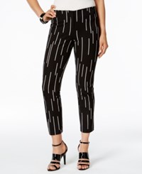 Alfani Printed Cropped Pants Only At Macy's Linear Dashes