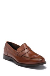 Cole Haan Fleming Leather Penny Loafer British Ta
