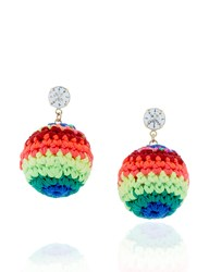 Venessa Arizaga Catch The Rainbow Earrings Multi