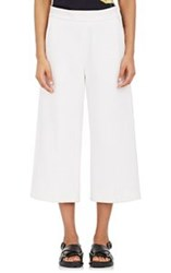 Marni Women's Crepe Gaucho Pants White