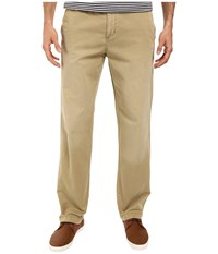 Tommy Bahama Montana Flat Front Pants Chino Men's Casual Pants Khaki
