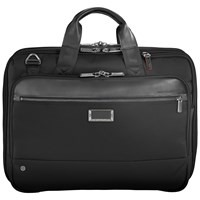 Briggs And Riley Atwork Medium Expandable Briefcase Black