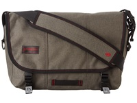 Timbuk2 Classic Messenger Bag Small Carbon Full Cycle Twill Messenger Bags Pewter