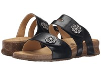 Haflinger Pansy Black Women's Sandals