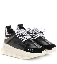 Versace Chain Reaction Sneakers Black