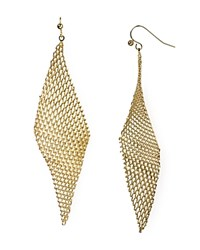 Jules Smith Designs Jules Smith Mesh Wave Earrings Gold