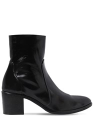 Strategia 50Mm Naplack Patent Leather Ankle Boots Black
