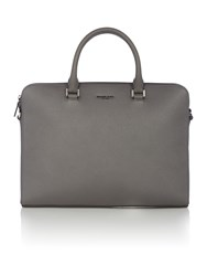 Michael Kors Medium Double Zip Briefcase Grey