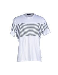 Surface To Air Topwear T Shirts Men White