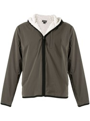 James Perse Hooded Zipped Jacket 60