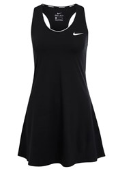 Nike Performance Sports Dress Black White