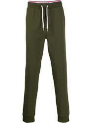 Moschino Logo Tracksuit Bottoms Green