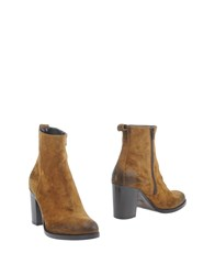 Jfk Ankle Boots Camel