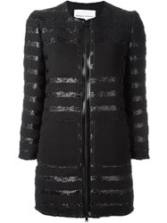 Sonia Rykiel Tween Zipped Coat Black