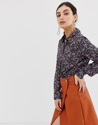 United Colors Of Benetton Overall Printed Vintage Blouse Multi