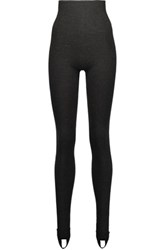 Dolce And Gabbana Cashmere Leggings Charcoal