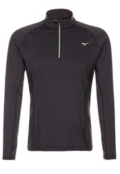 Mizuno Warmalite Top Sports Shirt Black